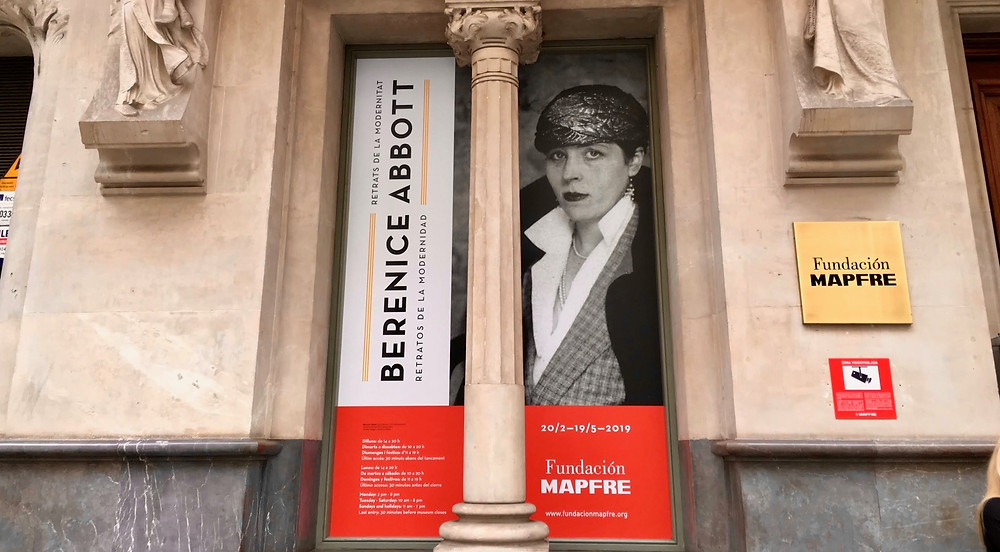 Berenice Abbott in mostra alla fundación Mapfre Barcelona