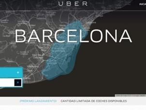 Uber sbarca a Barcellona