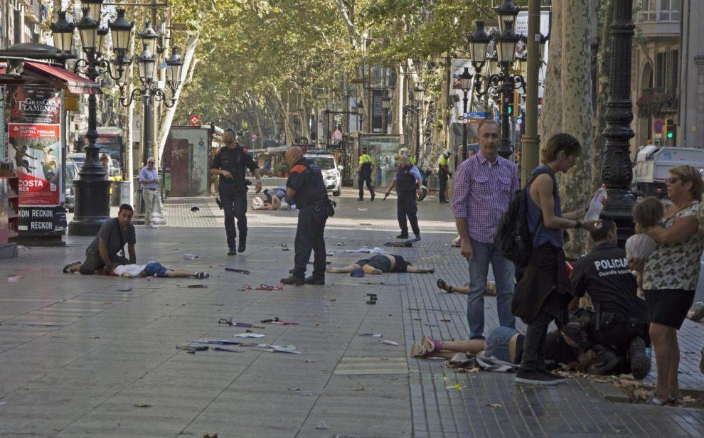 Attentato terrorismo rambla Barcellona