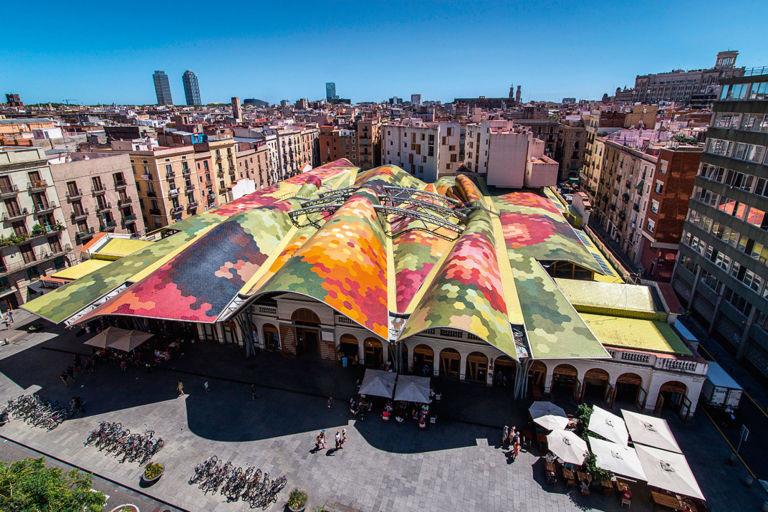 mercato Santa Caterina Born Barcellona
