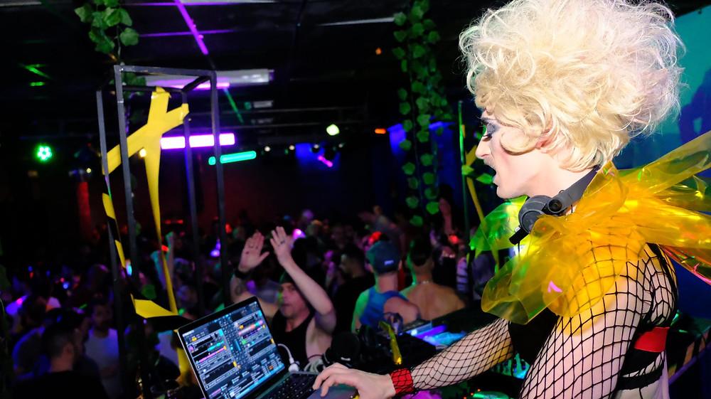 Paul Preciado al CCCB di Barcelona - Queer party