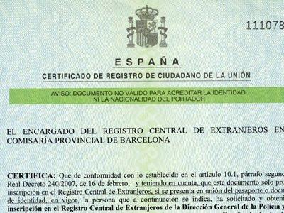 NIE verde definitivo in Spagna - Miti e contraddizioni - Come ottenere il NIE - Italiani a Barcellona