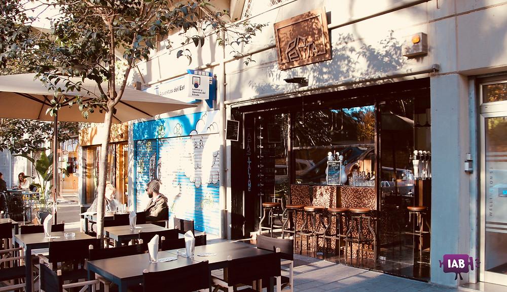 Pepita bar restaurante italiano en Barcelona - Parc de la Ciutadella