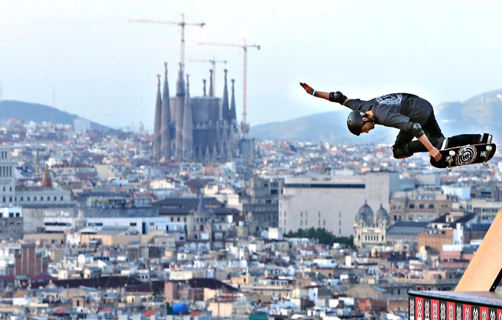 Fare sport a Barcellona - Hacer deporte en barcelona - Skate
