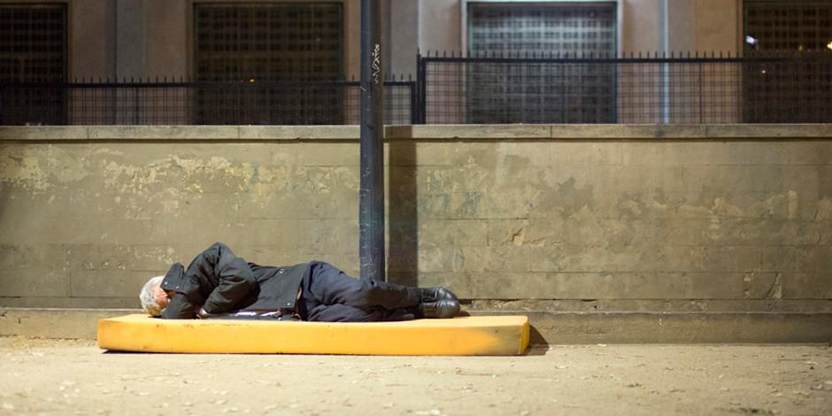 Indigentes - Sin techos muertos en Barcelona