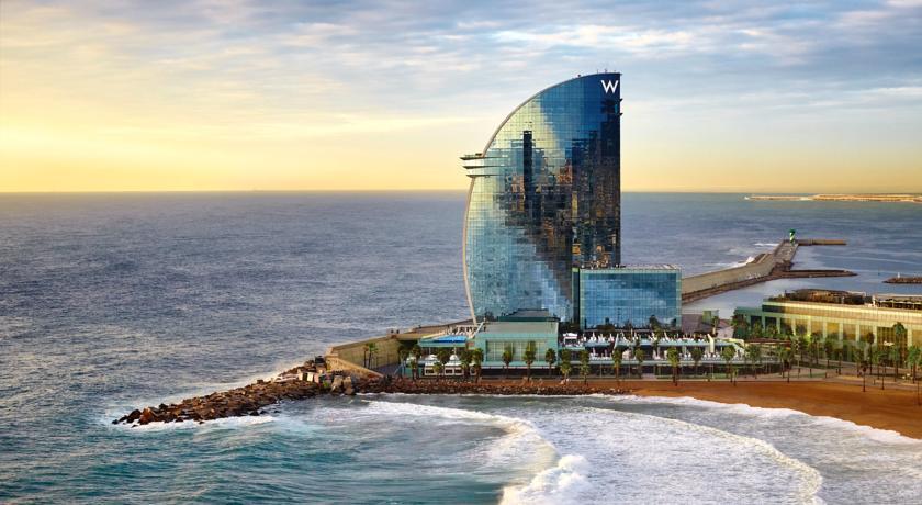 Hotel W Barcelona - Hotel Vela Barcellona - Italiani a Barcellona