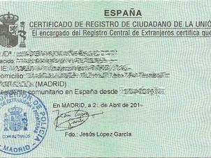 Come riuscire ad avere il NIE senza contratto di lavoro in Spagna