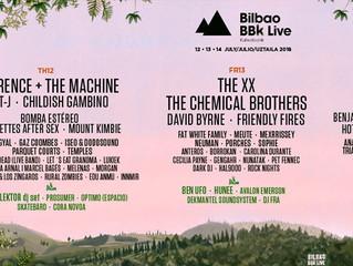 Info per il Bilbao BBK Live 2018