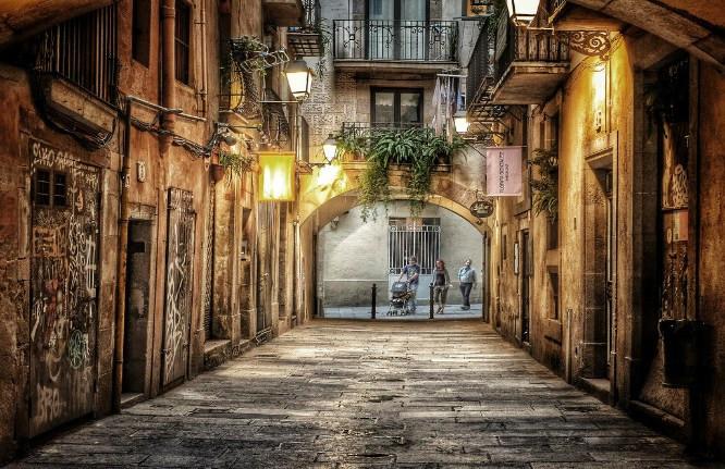 El Borne en Barcelona