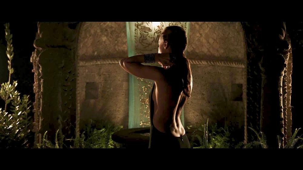 Kasia Smutniak en Silvio y los otros - Estreno película de Paolo Sorrentino en Barcelona