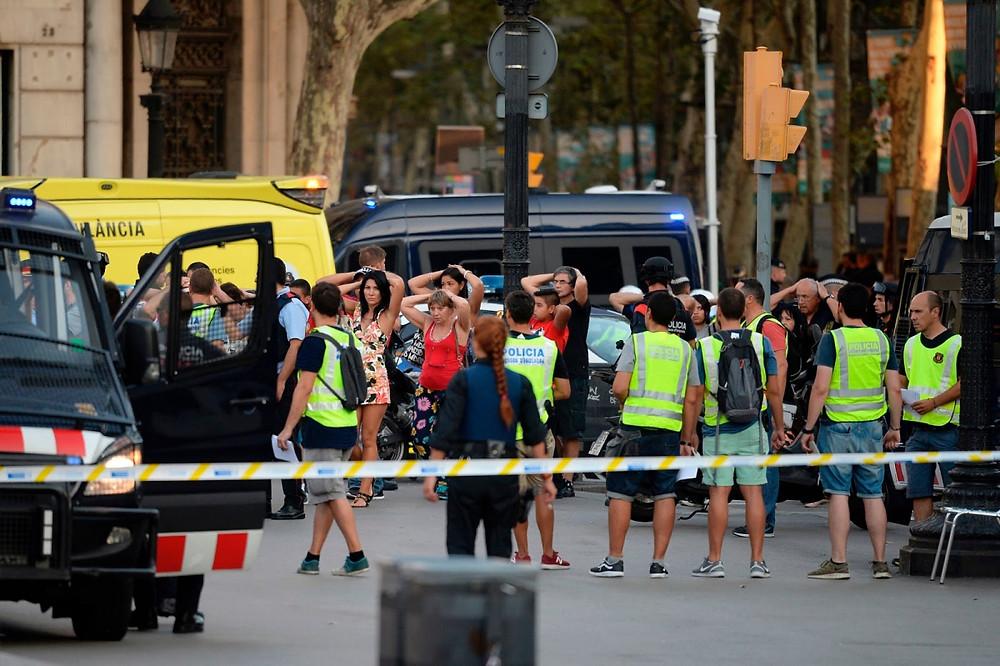 Attentato sulle Ramblas a Barcellona
