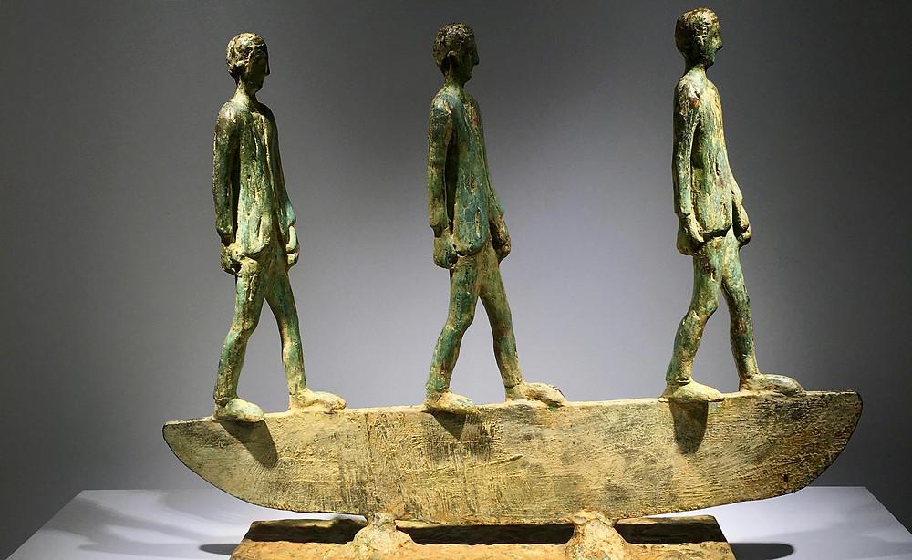 Roberto Barni, mostra scultura e pittura a Barcellona