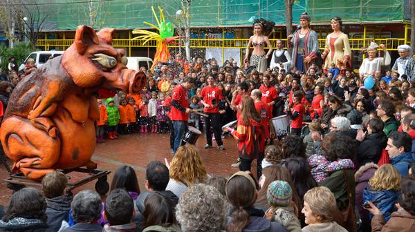 Festa Mayor Sant Antoni - Festa di quartiere a Barcellona - Italiani a Barcellona