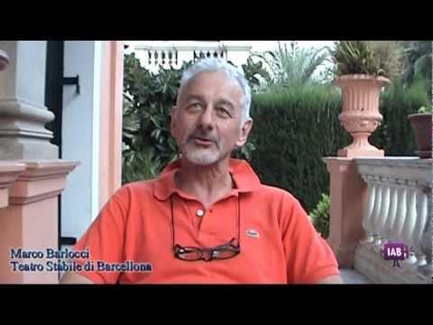 Marco Barlocci, il direttore del TSB Teatro Stabile di Barcellona