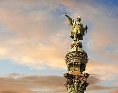 Statua Cristoforo Colombo Barcellona