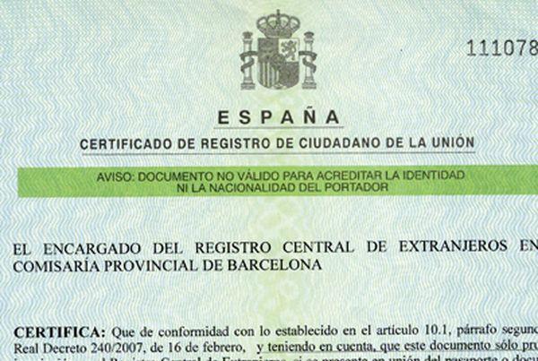 NIE documento italiani a Barcellona