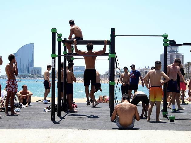 Fare sport a Barcellona - Hacer deporte en Barcelona - Gimnasio
