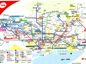 La metropolitana di Barcellona