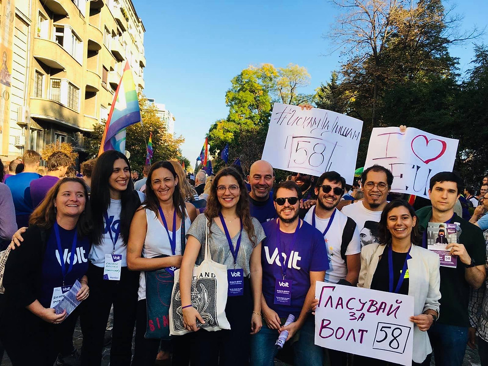 Rachele Arciulo - Volt Europa Barcelona Lead
