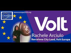 Elezioni, referendum e voto dall'estero - Intervista a Rachele Arciulo di Volt
