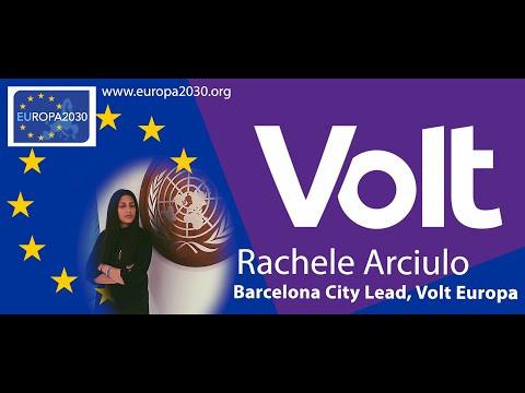 Rachele Arciulo - Volt Europa Barcelona City Lead