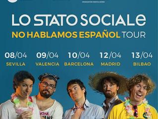 Stato Sociale in concerto a Barcellona
