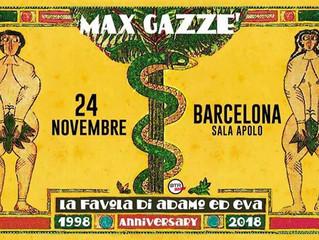 Max Gazzè in concerto a Barcellona. Biglietti gratis per i soci IAB