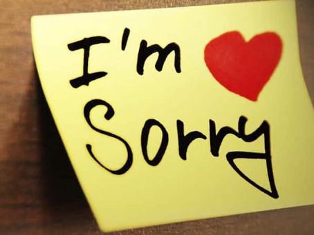 25 Способів вибачитись англійською!