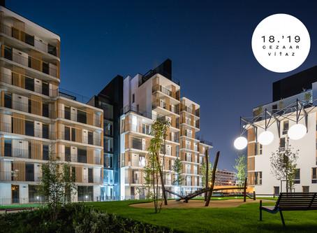 N!DO víťazom Ceny za architektúru CE.ZA.AR 2018 v kategórii bytové domy