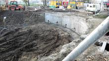 Realizácia infraštruktúry a stabilizácia jamy
