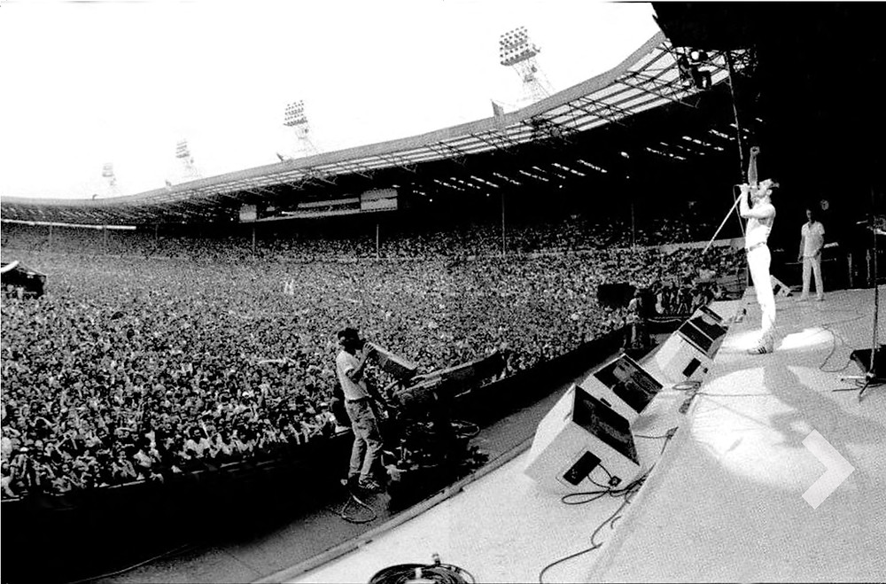 Queen on stage at Live Aid | The Solution Engine Blog | Allan Evans