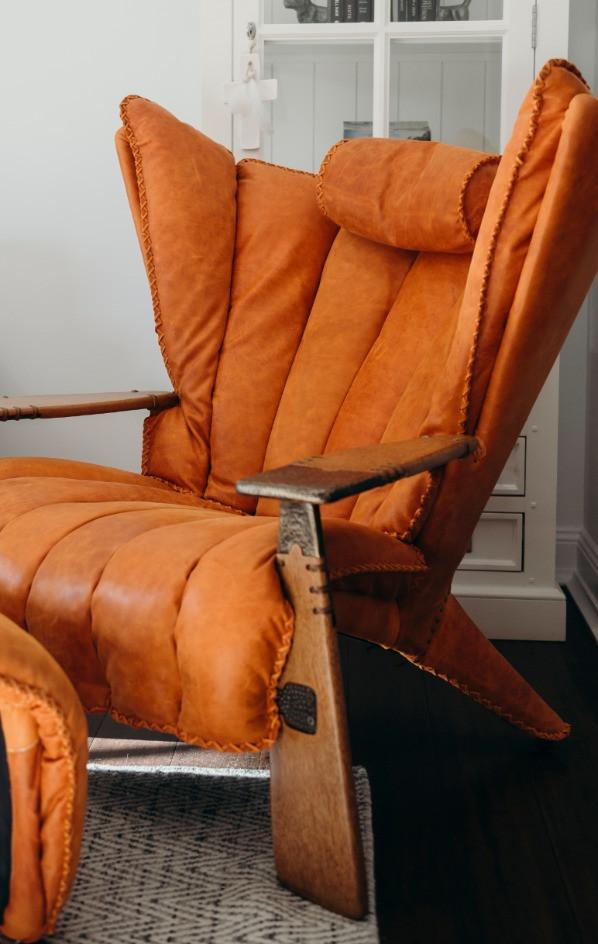 Brunswick Mews, luxury accommodation Newcastle, Verite armchair, boutique accommodation Newcastle, B&B Newcastle