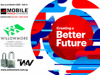 Willowmore takes part in Mobile World Congress 2108, Barcelona