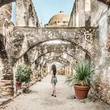 [여행지/텍사스 San Antonio/건축물] Mission San Jose
