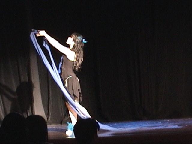 Modern Ribbon Dance