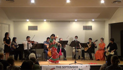 Classical dance with live band
