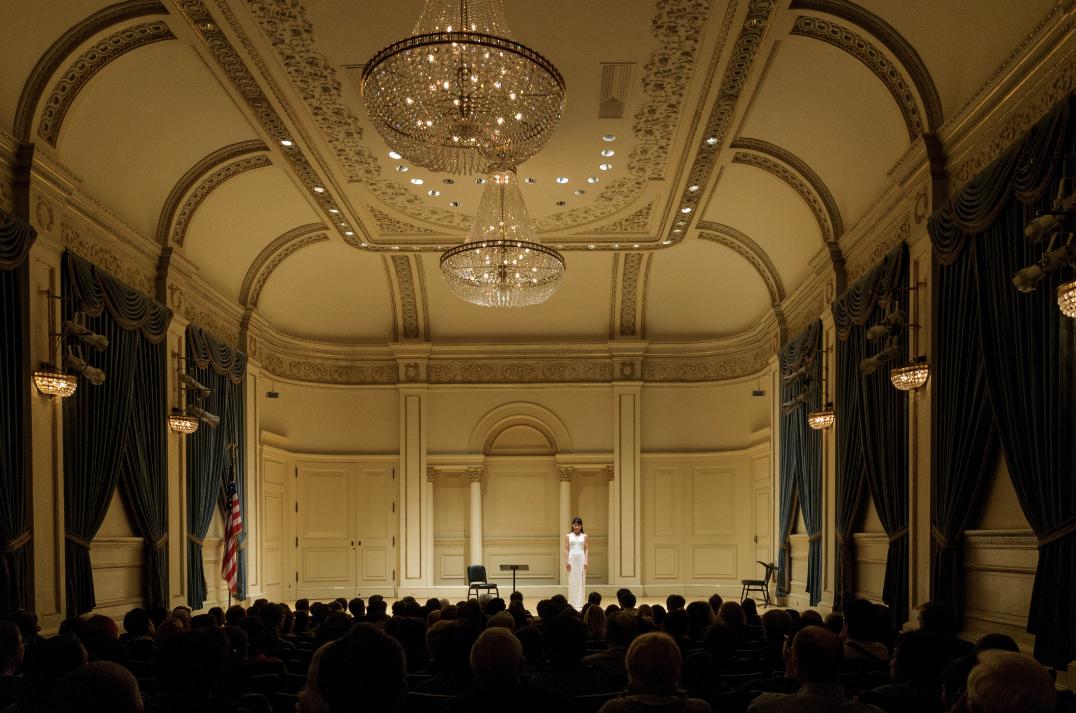 卡内基音乐厅主持音乐会