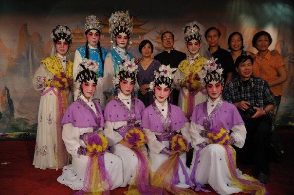 Chinese opera style performance