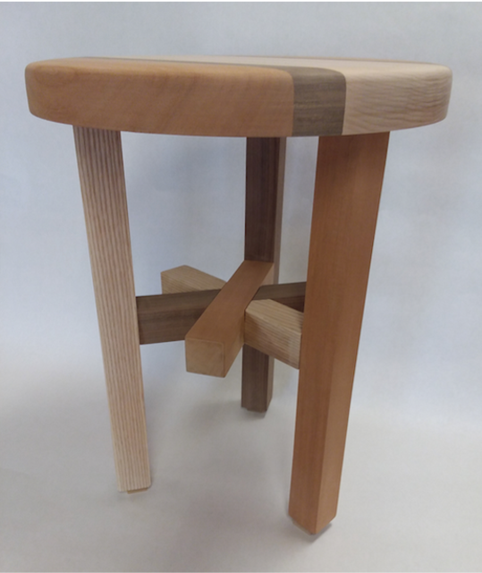 Something to Sit On - A Tri-Colored Stool - Fall 2018