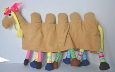 Sally the Camel - A Transforming Stuffed Animal - Summer 2012
