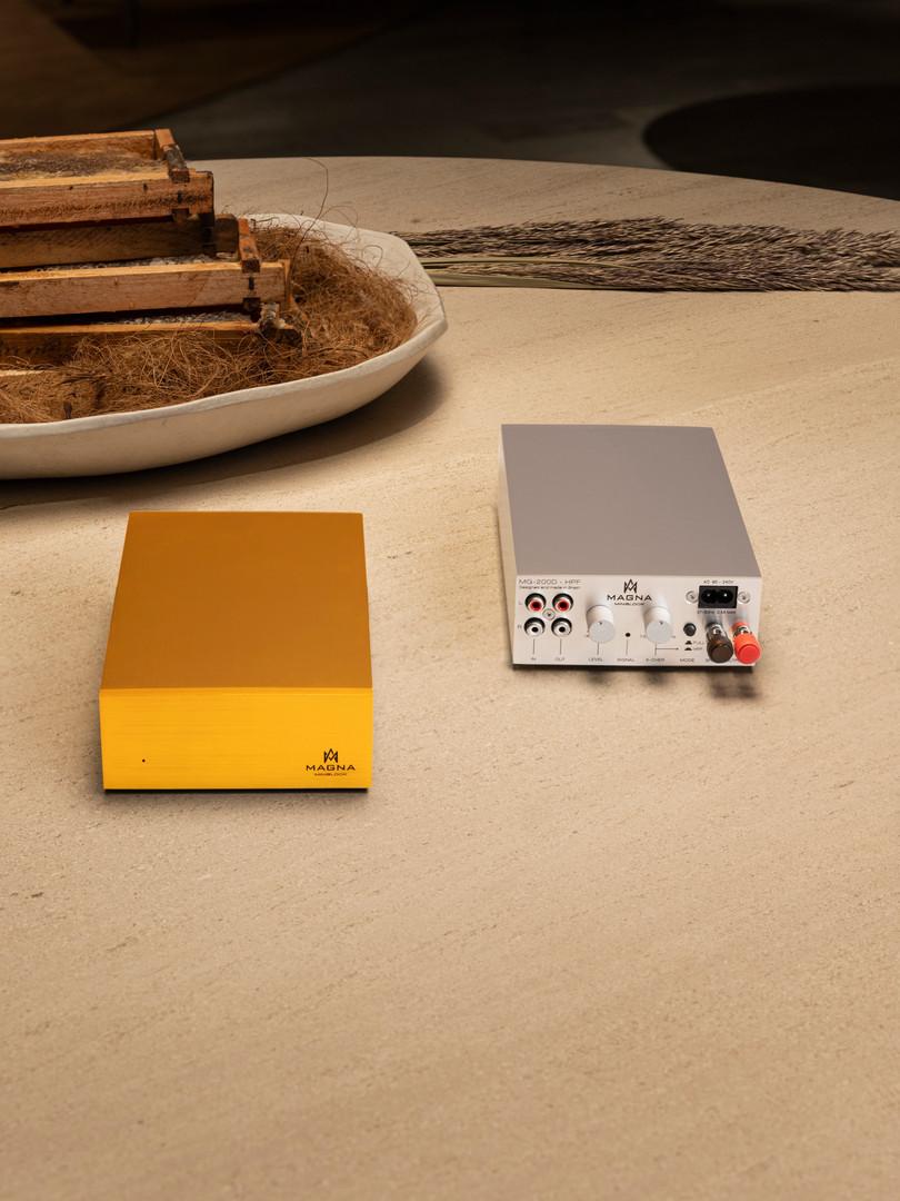 Alto-falantes Magna Audio - MiniBlock Gold an