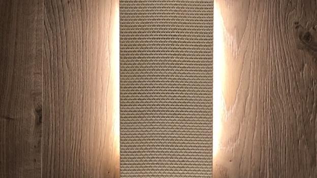 """Magna LCR Series Custom Palha White com iluminação em led e falantes com 4"""" para som ambiente"""