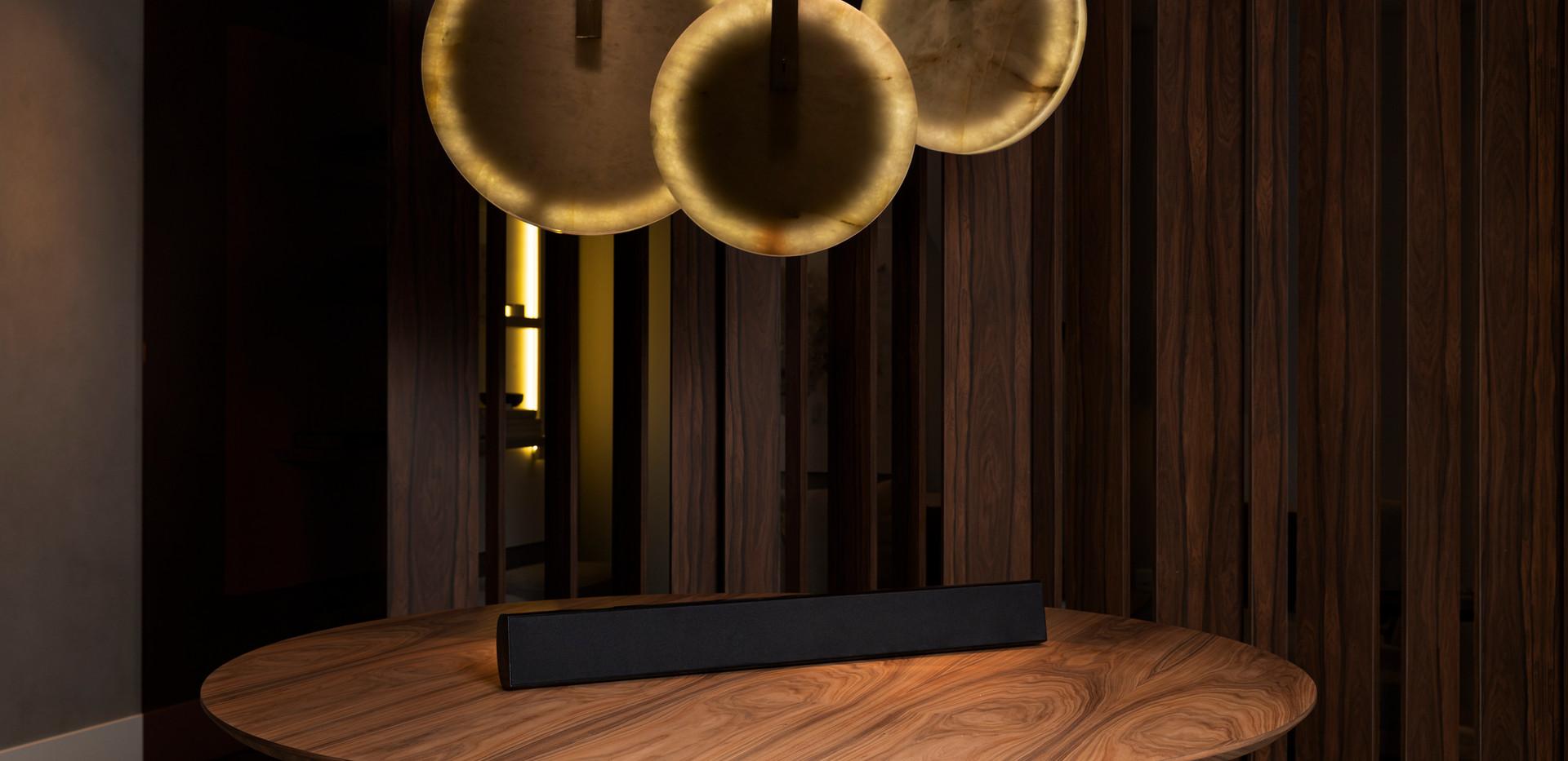 Soundbar mesa