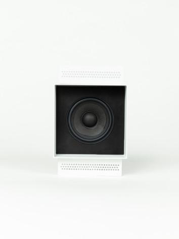 Magna Audio Speakre - NoFrame Square Bla
