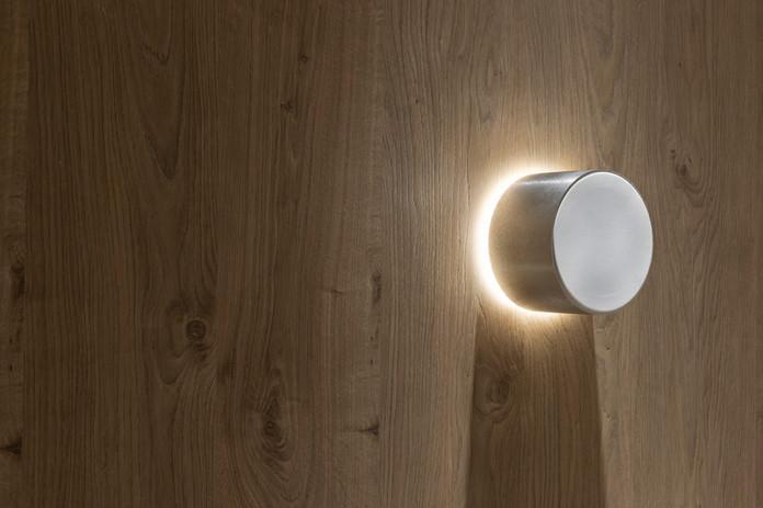 Magna Audio Speaker - Aura 3 Natural Brushed with Light