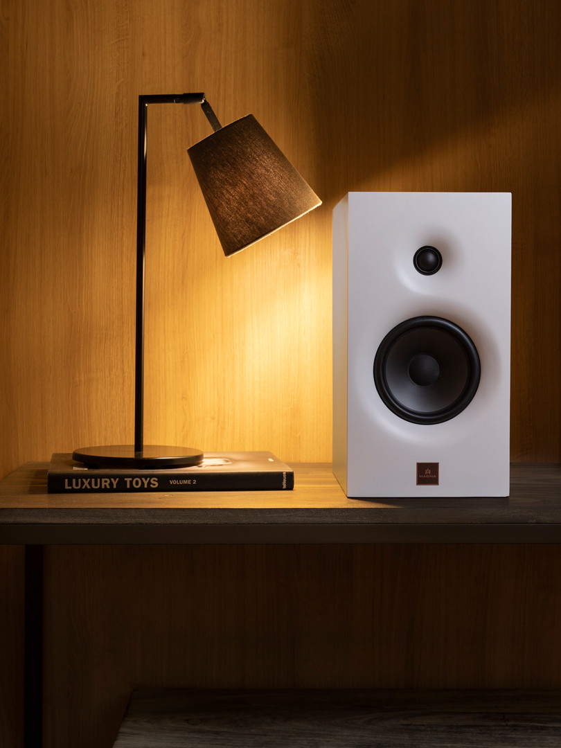 Magna Audio Speaker - Designed Bookshelf