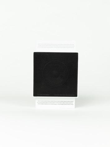 Magna Audio Speakre - NoFrame Square Black and White