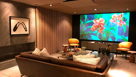 Ambiente Léo Maia - Home Theater