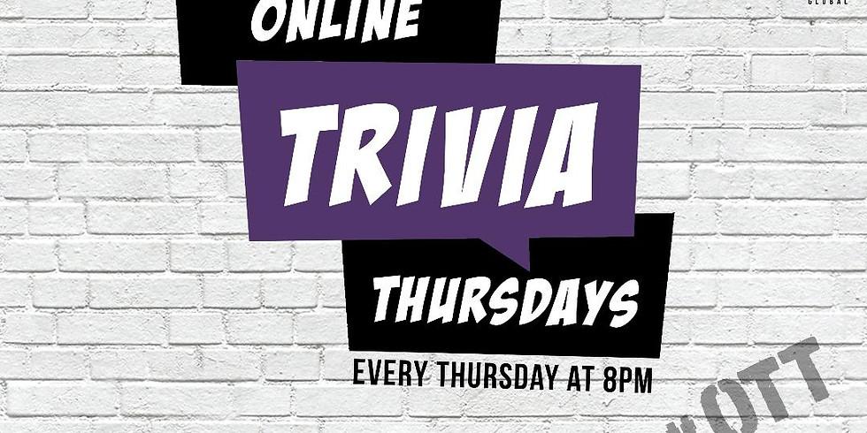 Online Trivia Thursdays #OTT