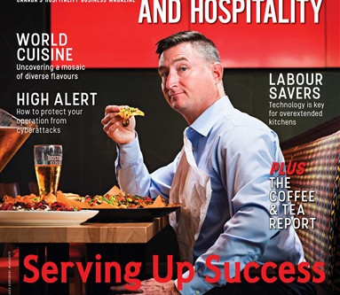 The Venue Global App - Featured in Food Service & Hospitality Magazine